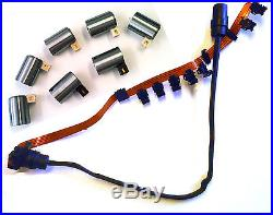 095 096 01M Transmissions 7 Piece Solenoid Set & Wire Harness 1990 UP VW
