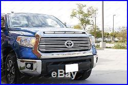108W 36 LED Light Bar with Hood Scoop Bulge Mounting Wiring For 14+ Toyota Tundra