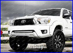 150W 30 LED Light Bar with Lower Bumper Brackets, Wirings For 05-15 Toyota Tacoma