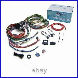 15 Fuse COMPLETE NOSE TO TAIL GM WIRING HARNESS 12v fuse panel chevy car truck