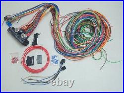 1949-54 Chevy 150 210 12v 24 Circuit 15 Fuse Wiring Harness Wire Kit Upgrade