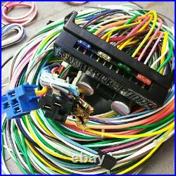 1958-1964 Chevy Impala Complete 24 Circuit 12V Dash Harness Wiring Upgrade Kit
