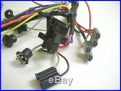 1961 61 Chevy Impala Under Dash Wiring Harness with Fuse Box Automatic