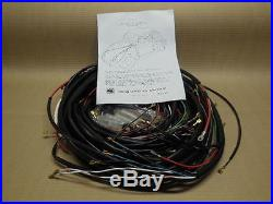 1962-1967 VW Type 3 (ALL Models) Wiring Works MAIN Wire Harness Kit USA MADE