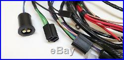 1963 63 Chevy Impala Forward Front Light Wiring Harness Internal Regulated