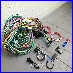 1964 73 Mustang 64 65 Comet & Falcon Wire Harness Upgrade Kit fits painless