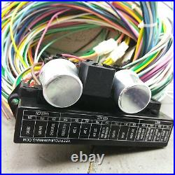 1965-70 Plymouth Fury 24 Circuit + 12V Accessory Dash Wiring Harness Upgrade Kit