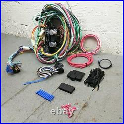 1967 1970 Ford Mustang Wire Harness Upgrade Kit fits painless fuse compact new