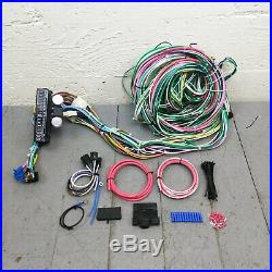 1967-79 Ford Truck Under Dash Wiring Harness Upgrade Kit 24 Circuit 15 Fuse 12V