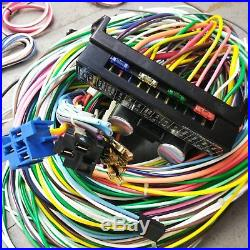 1971 1986 Jeep CJ Wire Harness Upgrade Kit fits painless fuse block terminal