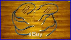 Chevrolet Gmc Chevy 6.5l Turbo Diesel Glow Plug Wires Harness Kit Blue Improved