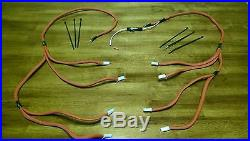 Chevrolet Gmc Chevy 6.5l Turbo Diesel Glow Plug Wires Harness Kit Red Improved