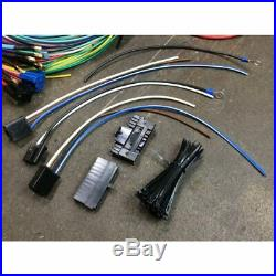 Complete 1973-87 Chevy C10 Pickup 24 Circuit Wiring Harness Wire Kit 15 Fuse K10