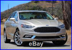 Complete OEM-Spec LED Fog Driving Lamps withBezel Wiring For 2017-up Ford Fusion