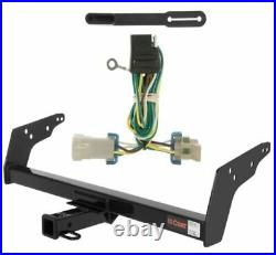 Curt Class 3 Trailer Hitch & Custom Wiring Harness for Chevy S10/GMC Sonoma