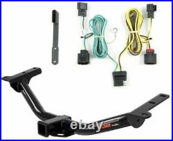 Curt Class 3 Trailer Hitch & Custom Wiring Harness for Dodge Journey