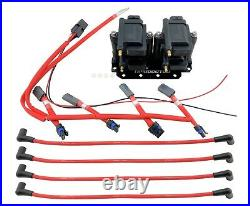 Fits Mazda RX-8 RX8 Smart IGNITION Coil 10mm Wires with Harness & Mounting Bracket