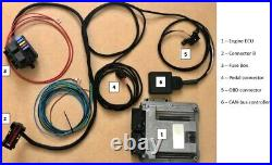 Ford Focus RS ST 2.3 2.0 Ecoboost Engine Swap wiring harness and ECU Kit Adapter