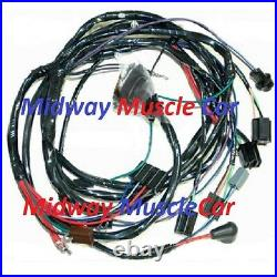 Front end headlight headlamp wiring harness 66 Chevy Impala Caprice Biscayne