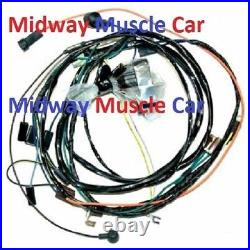 HEI engine wiring harness V8 72 Chevy Chevelle el camino 307 350 400 402 454