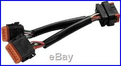 Hawg Wired Retro Radio Adapter Harness 96-97 FLH 8 Pin to 12 Pin 98-13 Deutch