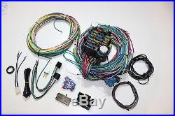 Hot Rod Eazy Wiring Harness 21 Circuit + Headlight & Dipper Switch Ford, Chev