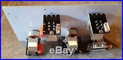 Jimmy Page style guitar wiring harness, long shafts