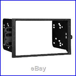 Kenwood Double Din Car Bluetooth USB CD Player With Install Mount Kit Wire Harness