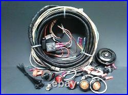 New! Can-Am Turn Signal Horn Kit LED Lights Sealed Loomed Wiring Harness