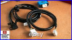 New Oem Toyota Gas & Hybrid Highlander Tow Hitch Receiver & Towing Wire Harness