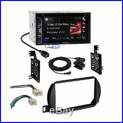 Pioneer 2016 Car Radio Stereo Dash Kit Wire Harness for 2002-04 Nissan Altima