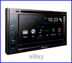 Pioneer Touchscreen DVD USB Stereo Dash Kit Wire Harness for 2009-12 Ford F-150