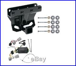 Trailer Tow Hitch For 05-06 Jeep Grand Cherokee Except SRT-8 with Wiring Harness