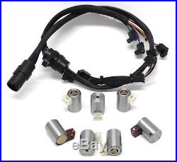 Transmission Solenoid Set With H. D. Wire Harness VW 01M O1M 1995-2004 NEW (99103)
