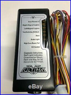 Ultima Complete Motorcycle Electronic Wiring Module Harness Harley & Customs