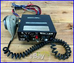 Vintage Whelen WS-295 Electronic Siren PA Amplifier 100w with Wire Harness