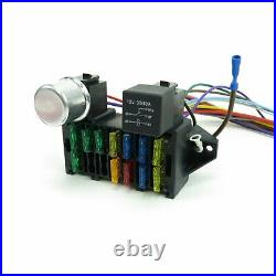 Wire Harness Fuse Block Upgrade Kit for 78-87 El Camino Stranded Insulation HMPE
