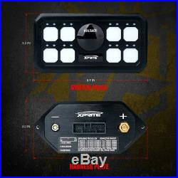 Xprite Universal Cars 8-rocker switch panel Wiring Harness Kit Control system